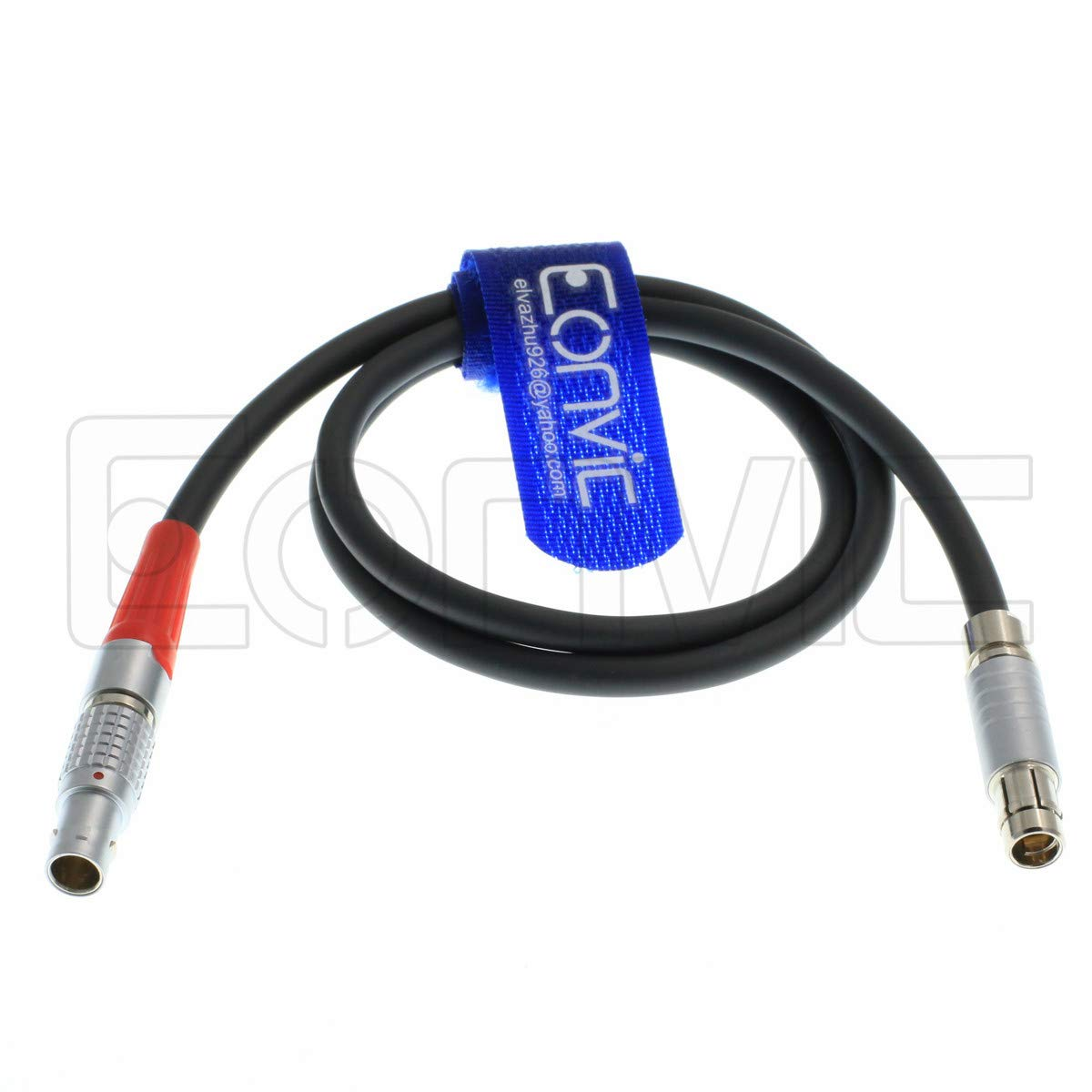 Eonvic Power cale for Arri Lbus FIZ Motor Fischer 3pin to 4 pin Male Connector