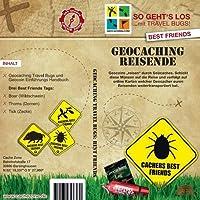 Cache Zone's GPS Geocaching Reisende: 3 Best Friends Tags (Travelbug)