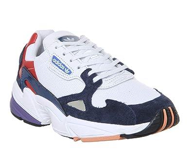 4cbe5551aa5cf adidas Falcon W, Chaussures de Fitness Femme, Multicolore Balcri/Maruni  000, 36