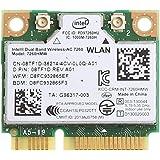 デュアルバンド 高速 Wi-Fi 通信Band Wireless-802.11 AC Intel 7260/7260ac controller 最大リング867 Mbps+ Bluetooth 4.0 無線LANカード