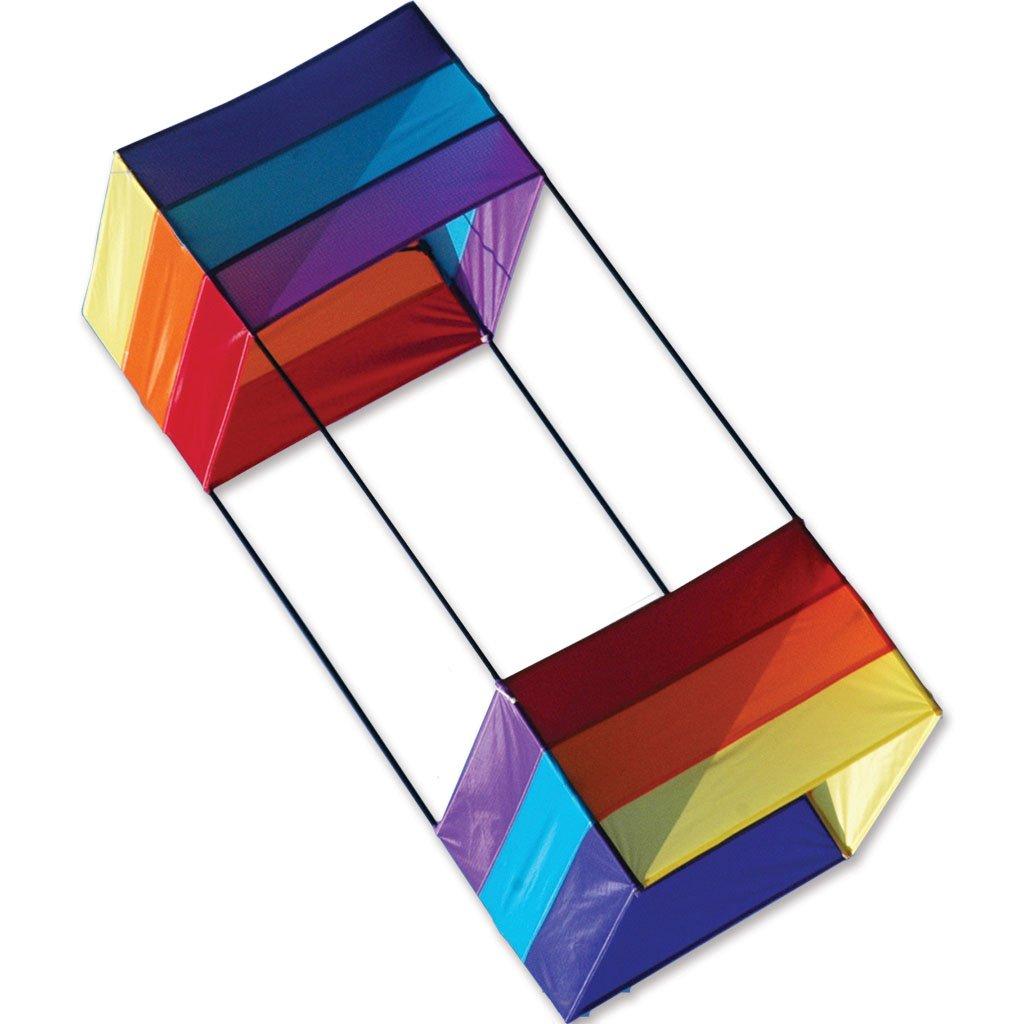 Premier Kites 40 In. Box Kite - Rainbow by Premier Kites (Image #1)