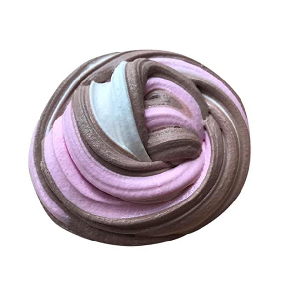 Dedo juguete, todaies descompresión juguete Fluffy Floam Slime aromática Stress Relief no bórax Kids Toy
