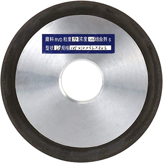 8 Inch Diameter 150# Diamond Grinding Wheel For Carbide Steel Milling Cutter
