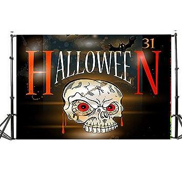 TAOtTAO 5 x 7 ft Fairytale fotografía fondos Halloween madera fondo de la foto niños luna