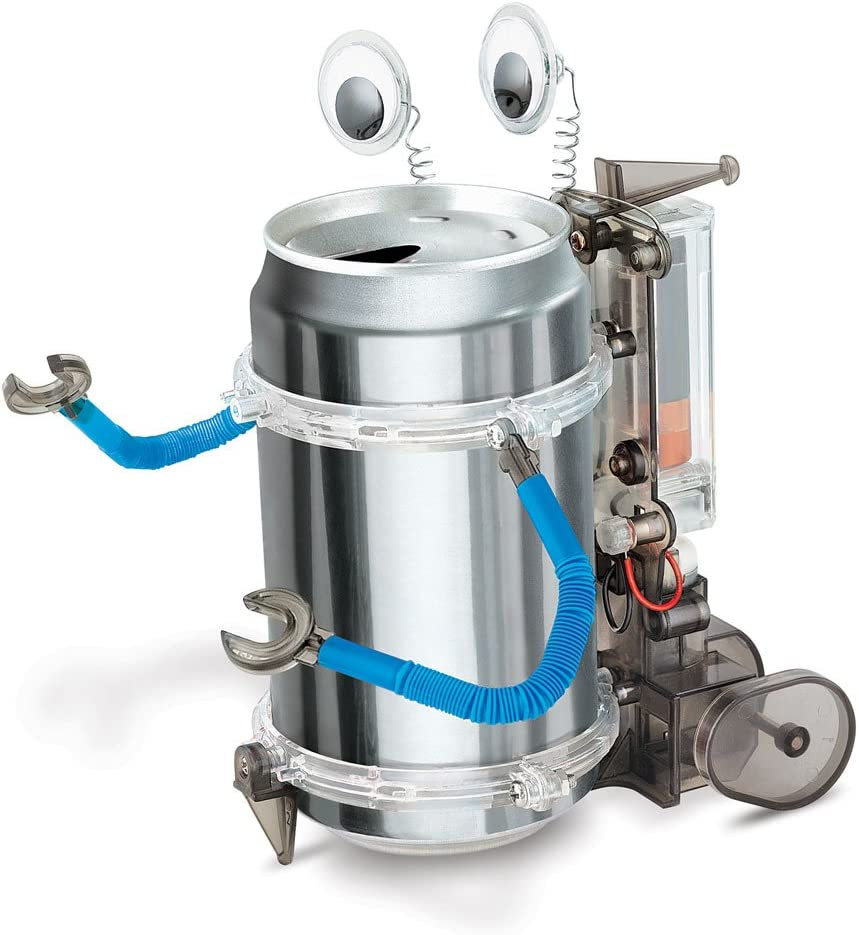 Details about  /Kidszlabs Tin Can Robot Or Fridge Robot 4M~ Build Your Oen Robot~New In Seal Box