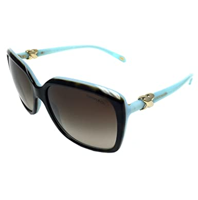 c10bc80885 Amazon.com  New Tiffany   Co. Womens TF4076 8134 3B Havana Brown ...