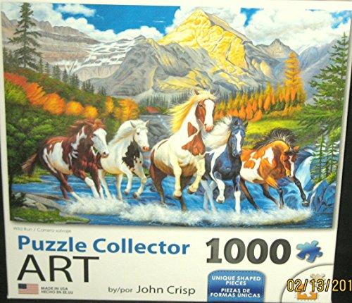Wild Run 1000pc Collector Puzzle By: John Crisp
