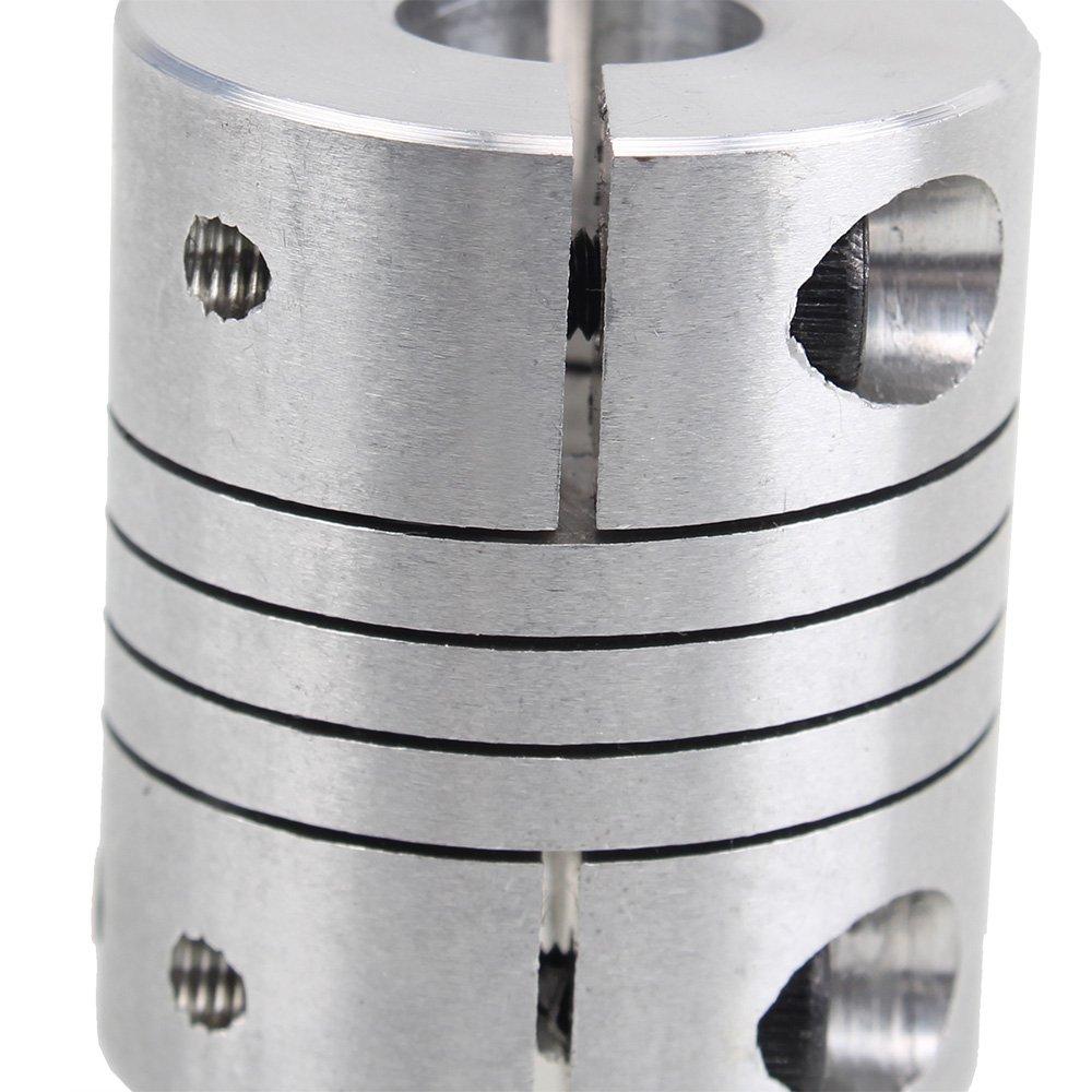 8 x 12mm Loch Flexible Wellenkupplung fuer Schrittmotor Encoder