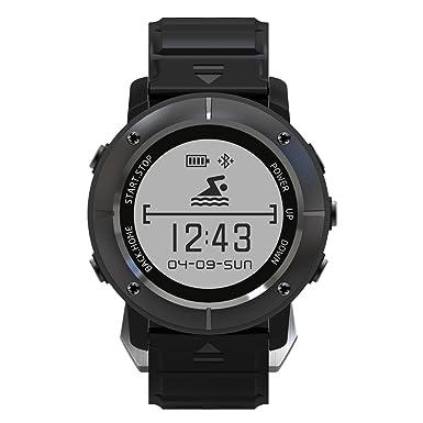 Makibes upg06 GPS reloj deportivo Múltiples deportes reloj inteligente posicionamiento GPS Tracker Triple Monitor de frecuencia