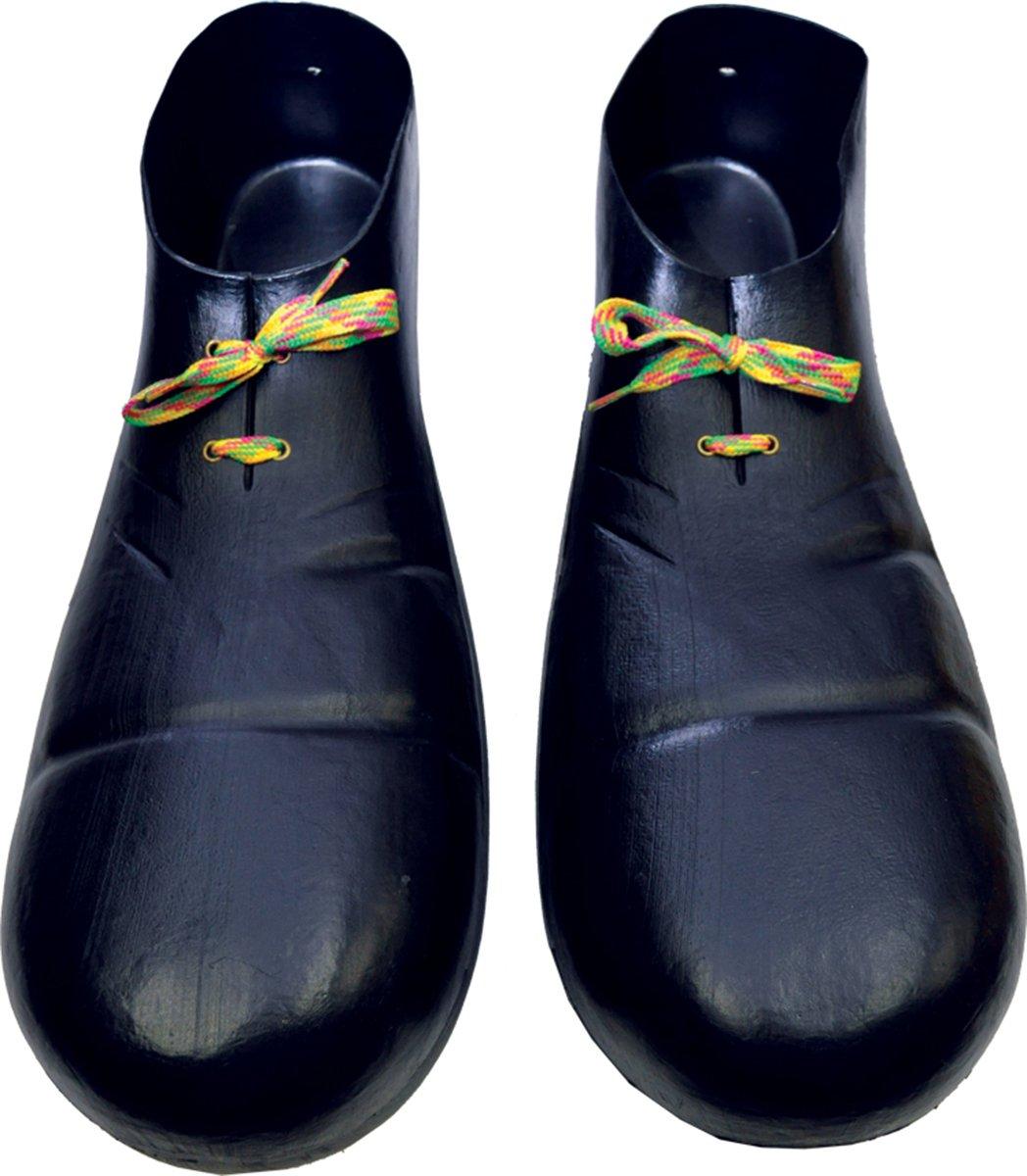 Plastic Clown Shoes - Black Rubies Costumes HA01BK