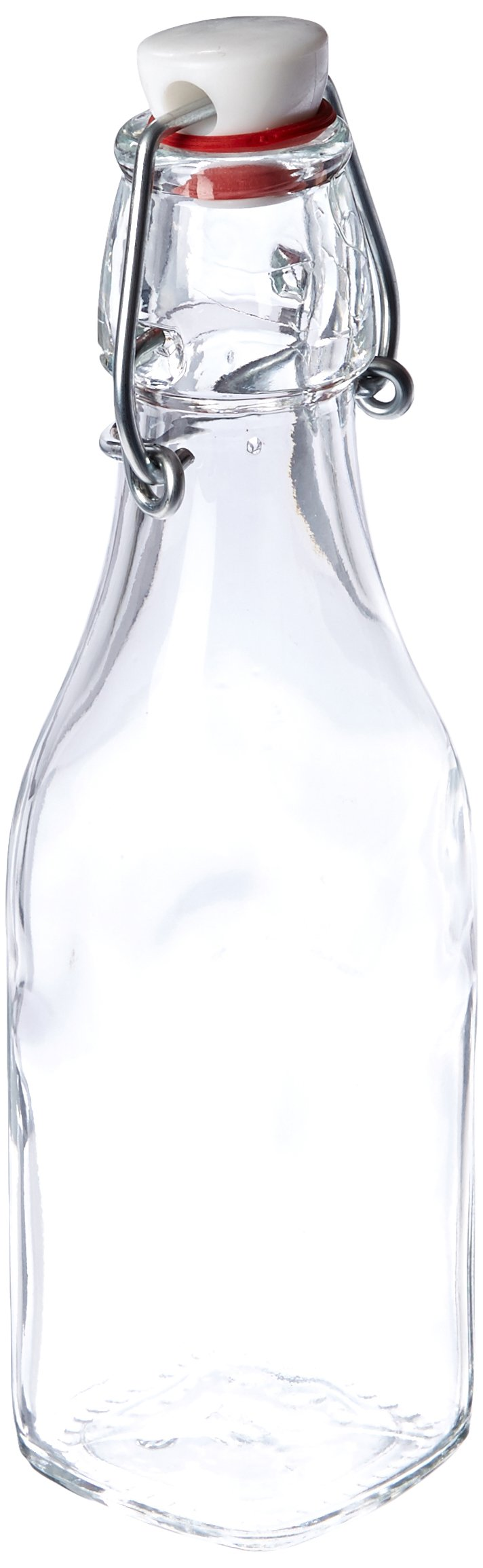 Bormioli Rocco Swing Bottle, 8.5 oz, Clear
