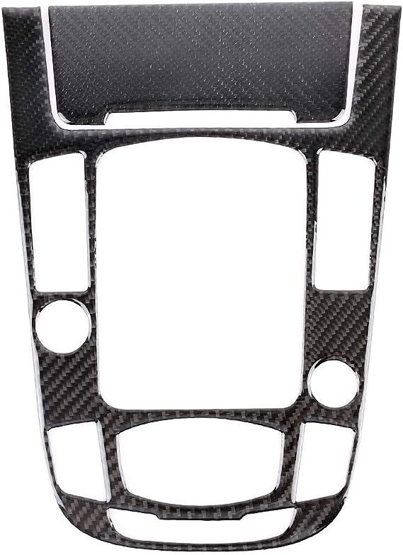 Q5 10-18,Style1 L/&U Carbon Auto Schaltkasten Abdeckung Schaltpult Dekorblende f/ür Audi A5 A4L 09-16