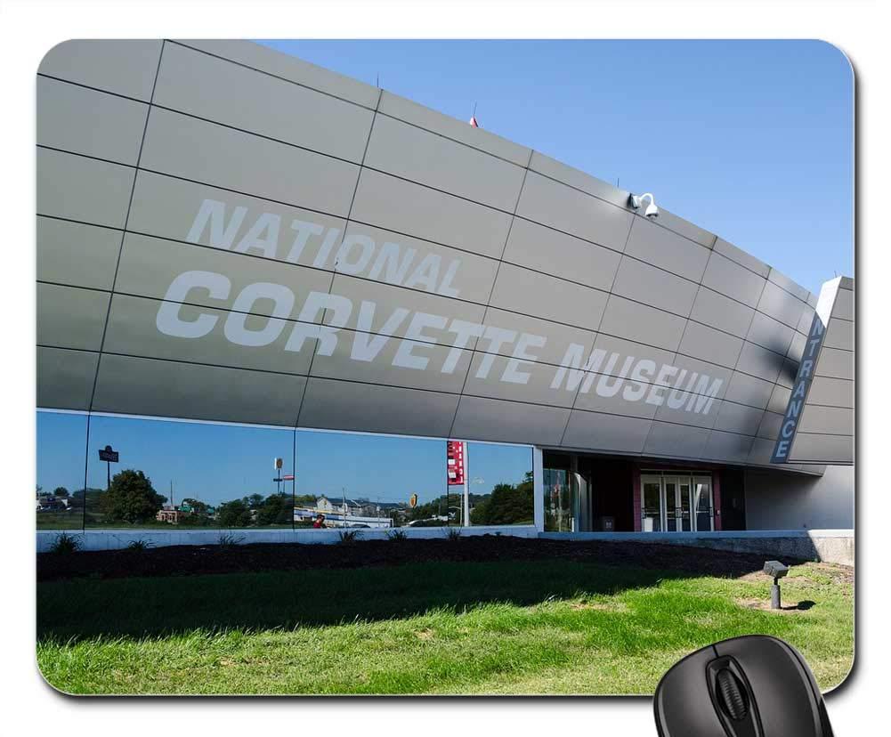 National Corvette Museum >> Amazon Com Mouse Pads Usa America Corvette National
