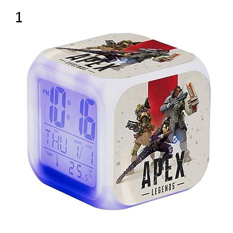 Ailyoo Apex Legends - Despertador Digital con luz LED Que ...
