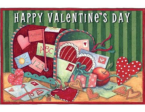 Teacher Created Resources Valentine's Day Postcards from Susan Winget (4349) by Teacher Created Resources