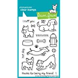 Lawn Fawn Clear Stamp Critters At The Dog Park