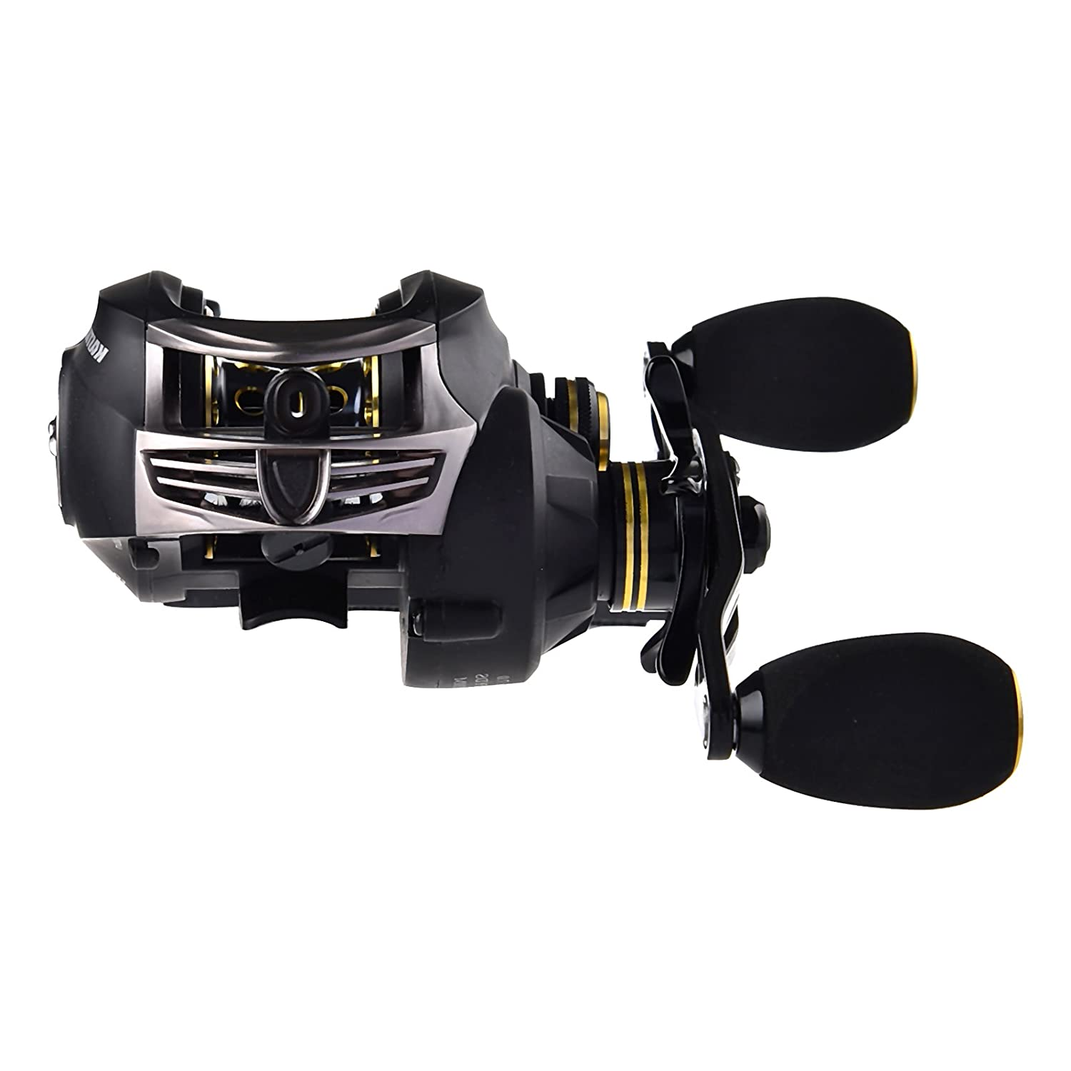 KastKing Stealth Baitcasting Reel - All Carbon Baitcaster Fishing Reel - 6oz Super Light Weight