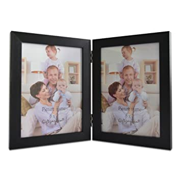 giftgarden 5 by 7 inch double picture frame pvc lens photo for 5x7 - Double 5x7 Picture Frame