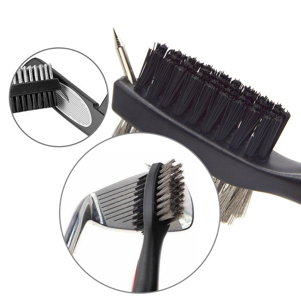 Amazon.com: GP Golf Cleaner Brush Groove Cleaner cabeza ...