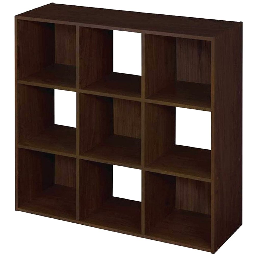 Cubeicals Organizer Espresso Modern 9 Cubical Free Standing Sturdy Minimal Contemporary Simple Cubicle Shelving Unit Organizing Cube Floor Organizers Dining Room Storing And eBook By NAKSHOP by CLM
