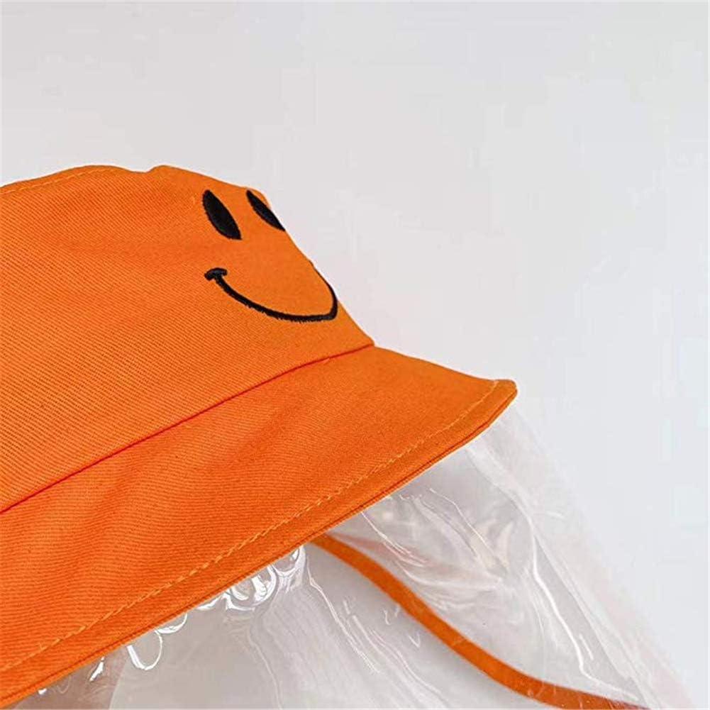 Dream Bridge Kids Schutzhut mit Gesichtsschutz f/ür Jungen und M/ädchen Multifunktionshut f/ür Jungen M/ädchen M/ütze Fischerhut Anti-UV