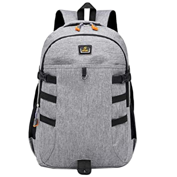 cc146f55e2 Image Unavailable. Image not available for. Color  Vinjeely Unisex Backpack  Large Capacity Nylon Middle High School Student Laptop Travel Bag ...