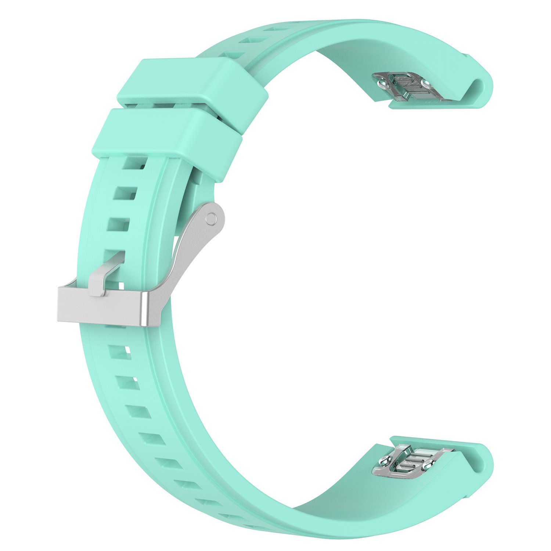 [ New 3 ]交換用クイックリリース26 mm幅シリコンスポーツバンドW x、Fenix/シルバーバックル51 mm for Garmin Fenix Smart 5 x、Fenix 3/ 3sapphire、Quatix 3、Tactix Bravo Smart Watch B071H2CTQM ティール ティール, 広島バラ園:05651575 --- mail.ferraridentalclinic.com.lb