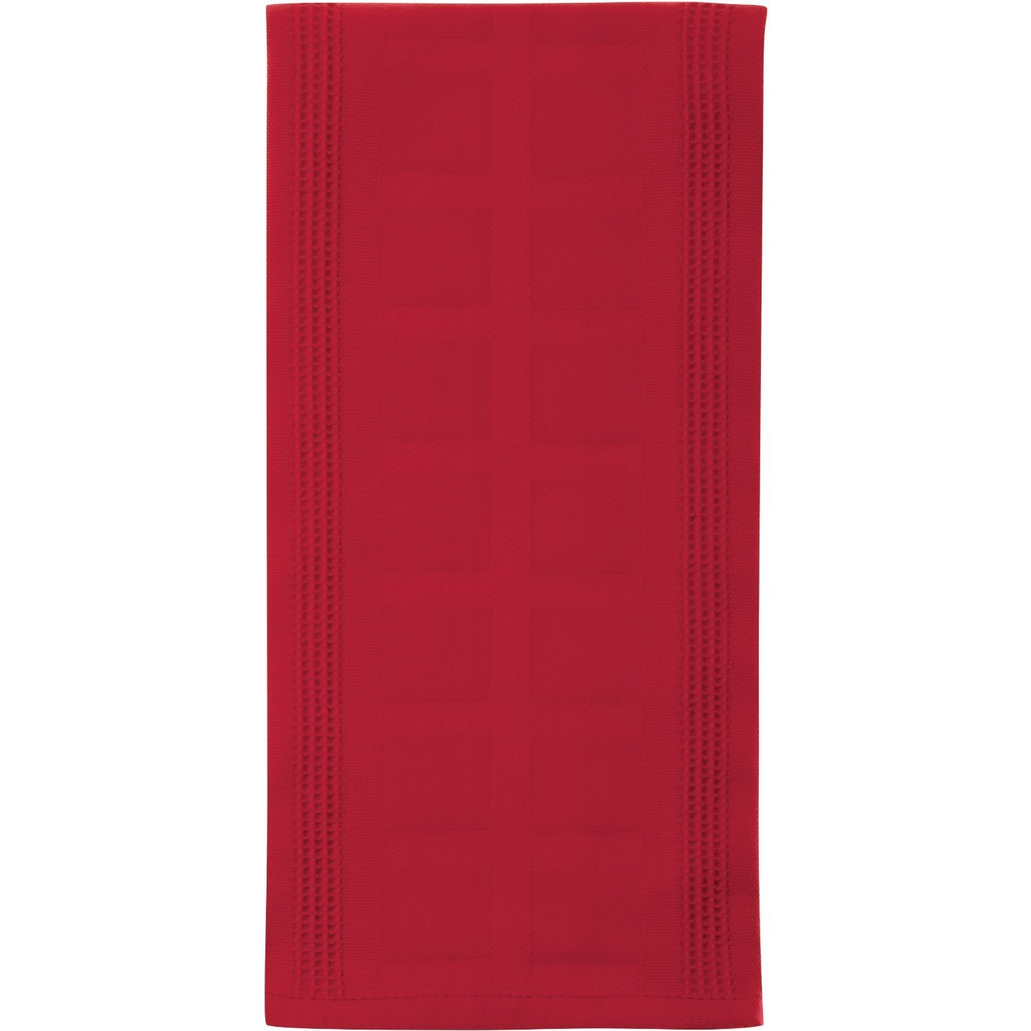 Red Extra Large Bamboo and Cotton Kitchen Towel BIGkitchen 02692RD