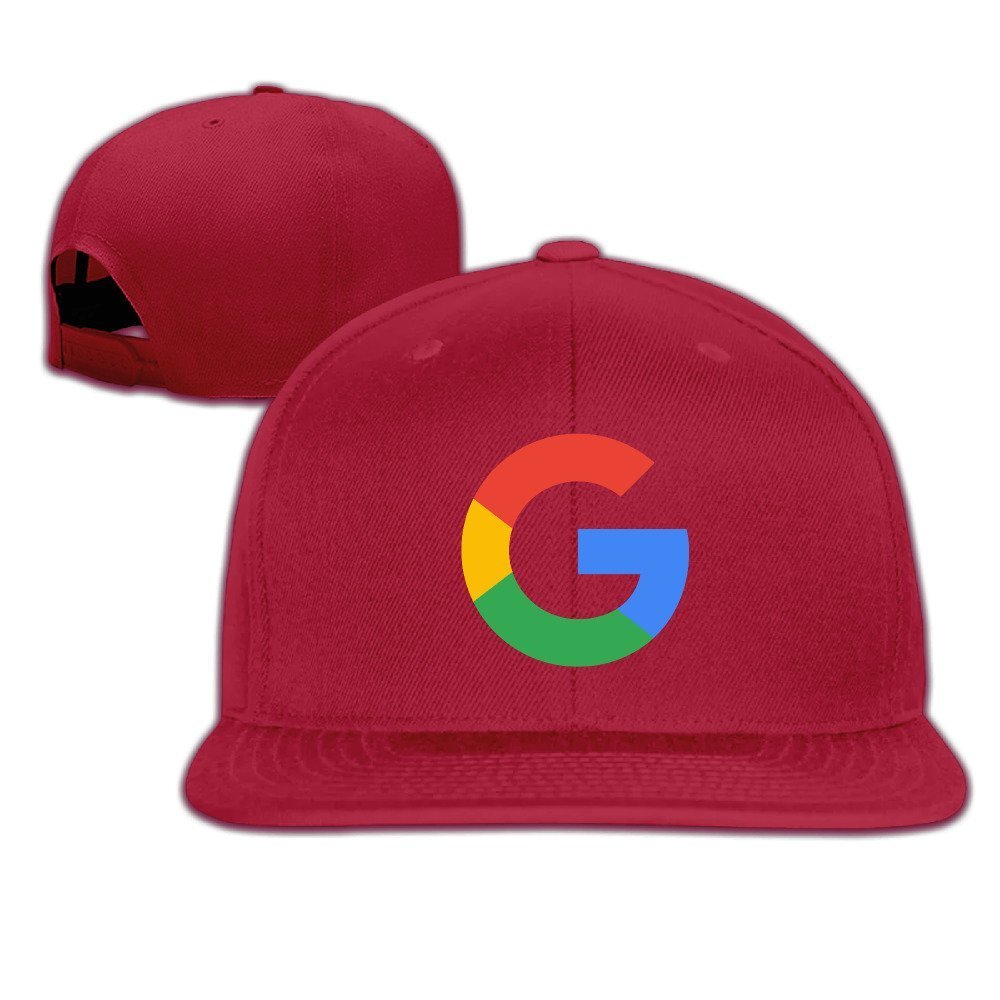 Unisex Google G Logo Adjustable Snapback Baseball Hat Ash One Size