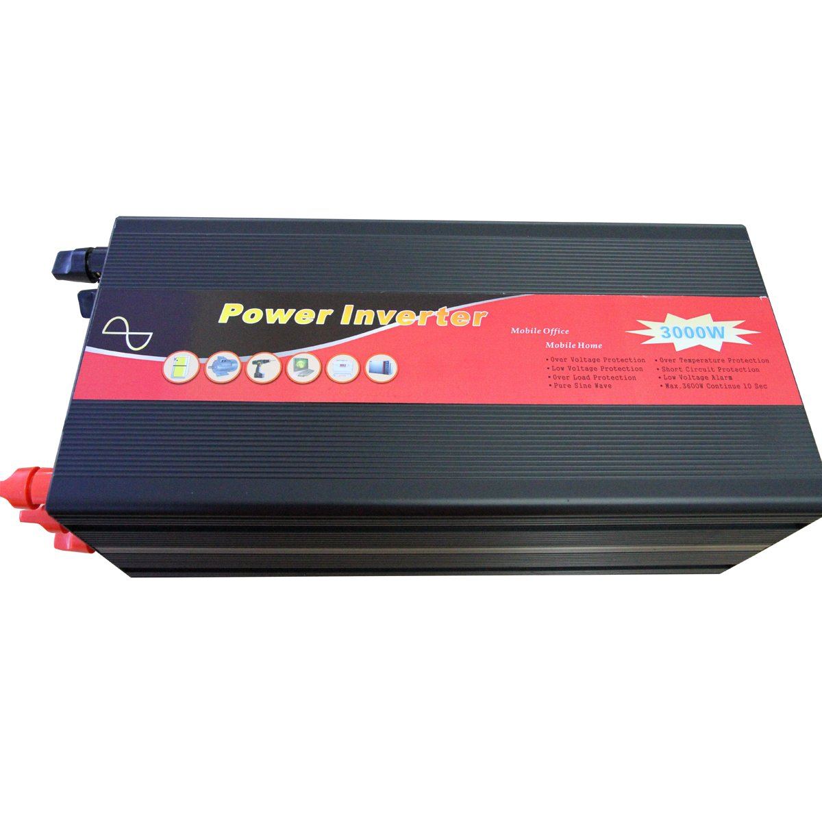Gtsun 3000w Dc 12v Ac 110v 220v 230v 240v Pure Sine Wave Power Inverter Circuit 12vdc To 230vac Usb Free Shippingfuse Built In Easily Changed