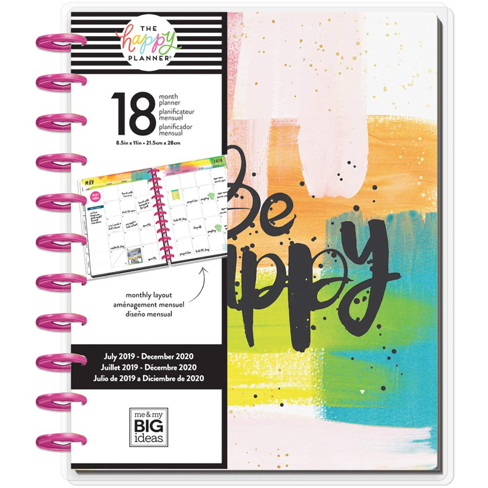 The Big Happy Planner - Big 18 Months - Dated (July 2019- December 2020) - Choose to Shine
