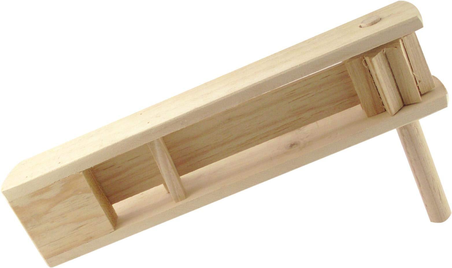 Big Wooden Matraca Noisemaker - 15'' long Ratchet