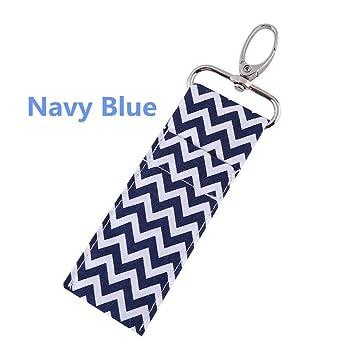 Chapstick Case Lipstick Holder Lip Balm Key ring