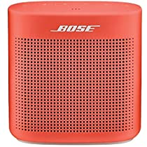 Bose SoundLink Color II 752195-0400 Bluetooth Speakers (Coral Red)