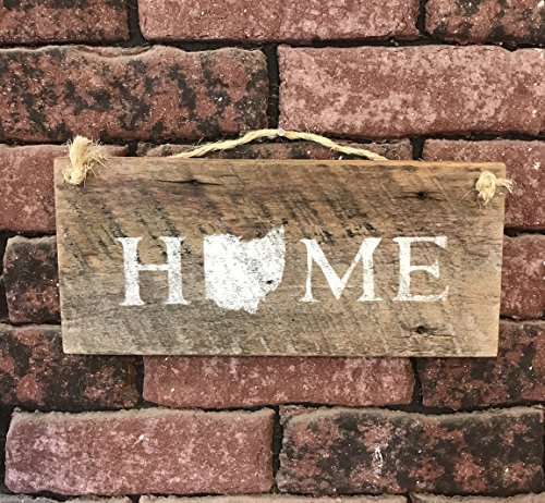 Ohio State Home Barn Wood Signs