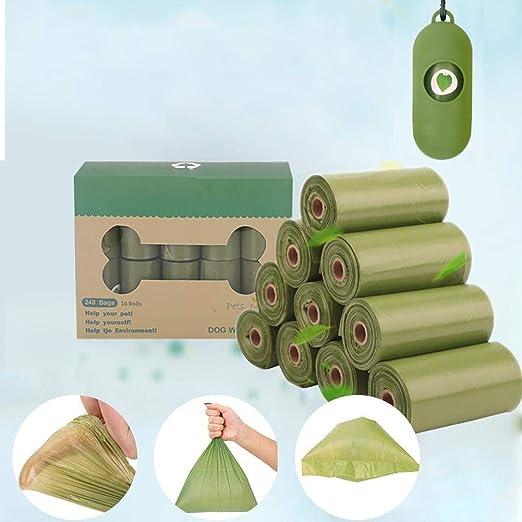 Bolsas De Compost Caca Perro Biodegradables, 16/20 Rodar Bolsas De ...