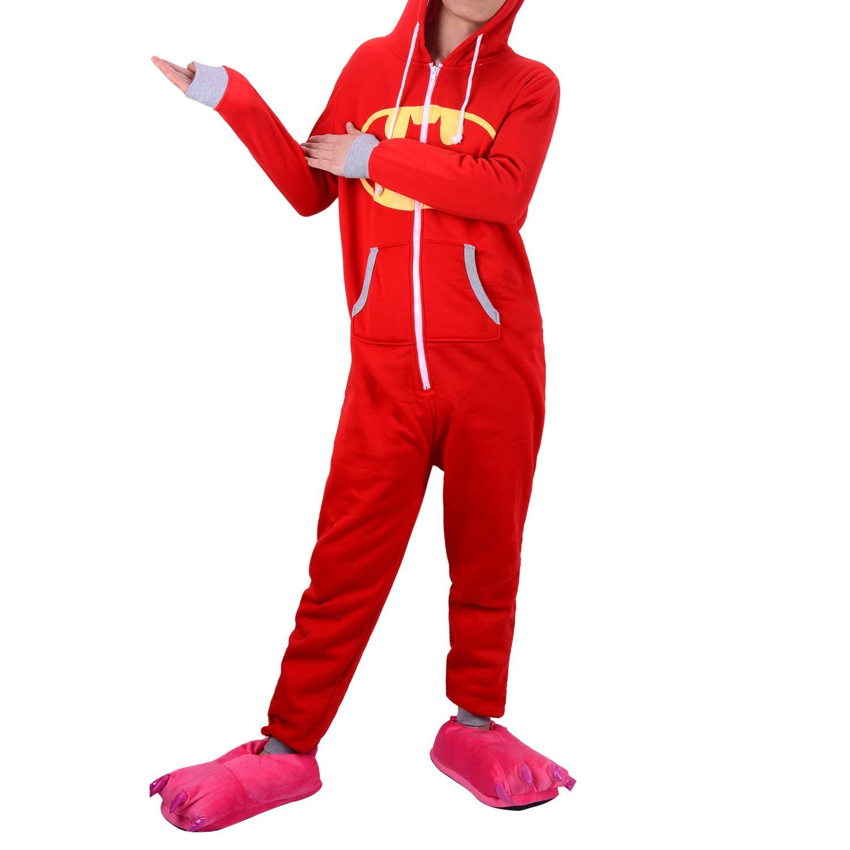 negozio online 4f40a 5eeee WhiFan Pigiama Unicorno Donna Uomo Cosplay Animato Costume ...