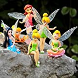 Elektra 6 Pcs Fairy Princess Doll Action Figures For Girls