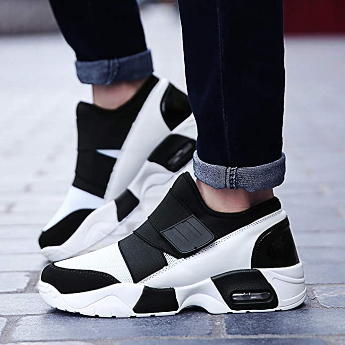 NIUJIN Mens Running Shoes Sports Walking Athletic Trekking Fashion Outdoor for Hiking Football Driving