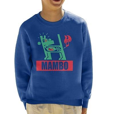 Official Mambo Farting Chili Green Dog Kid's Sweatshirt