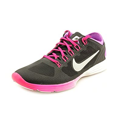 official photos 12b6f 46470 Nike Lunar Hyper Workout XT Womens Black Mesh Running Shoes Size UK 8.5   Amazon.co.uk  Shoes   Bags