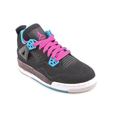 234c377b7f23 Amazon.com  Jordan Nike Girls Air 4 Retro (GS) Big Kids (7)  Shoes