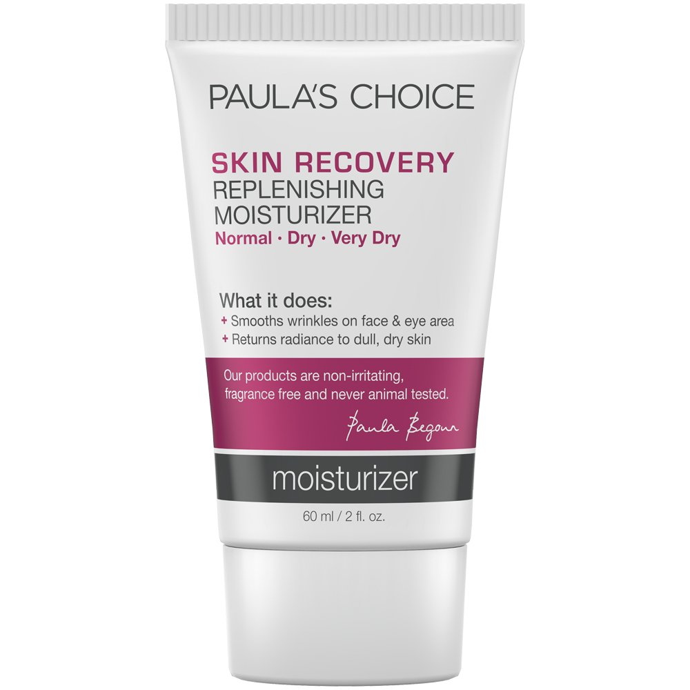 Paula's Choice--SKIN RECOVERY Replenishing Moisturizer Cream for Redness--Facial Moisturizer--Soothes Rosacea, Wrinkles, and Uneven Skin Tone--1-2 oz Tube