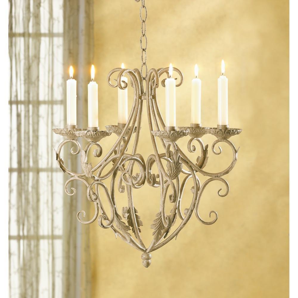 Amazon.com: Candleholders Wrought Iron Old World Style Candle Holder ...