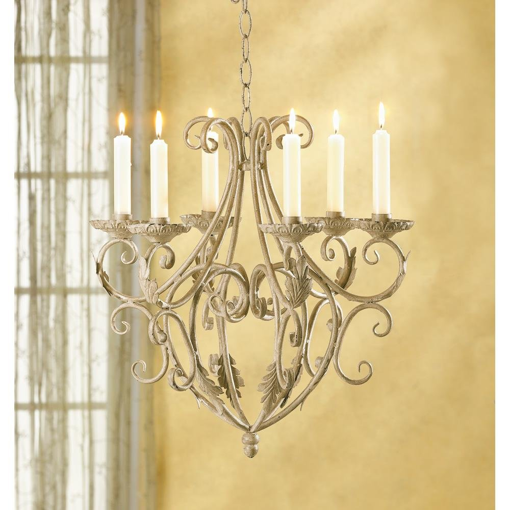 Candleholders Wrought Iron Old World Style Candle Holder Royalty's Chandelier by Candle Holders