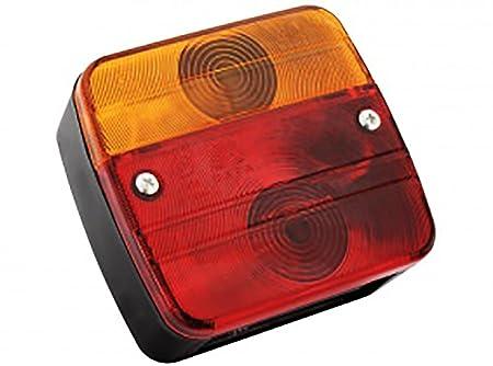 Rückleuchten-Set verkabelt für PKW-Anhänger, 7m Kabel, 7-poliger ...