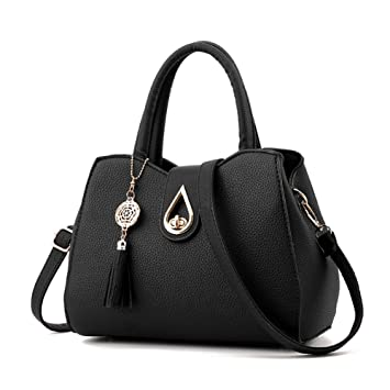a2136b443484 ZiXing Ladies PU Leather Handbags Fashion Totes Satchel Shoulder Handbags  for Women  Amazon.co.uk  Luggage