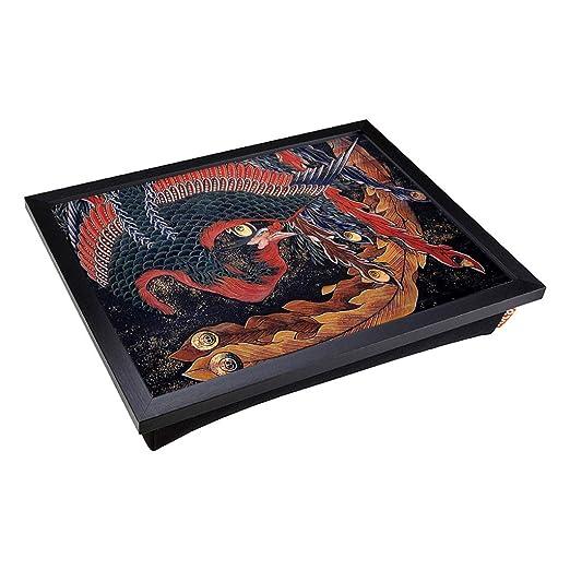 Big Box Art - Bandeja con cojín acolchado y Hokusai Phoenix ...