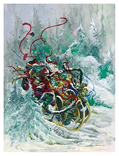 Global Gallery Peggy Abrams Windswept Toys-Giclee on Paper Print-Unframed-40 x 30 in Image Size, 40