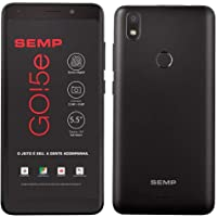 "Smartphone SEMP GO 5E, Preto, SC9832E, Tela de 5.5"", 16GB, 13MP"